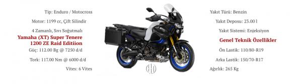 Yamaha (XT) Super Tenere 1200 ZE Raid Edition (2019 - XXXX) - Motodeks