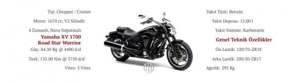 Yamaha XV 1700 Road Star Warrior (2002 - 2007) - Motodeks