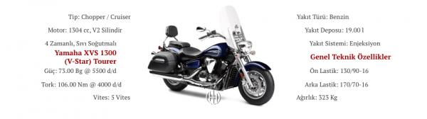 Yamaha XVS 1300 (V-Star) Tourer (2007 - 2017) - Motodeks