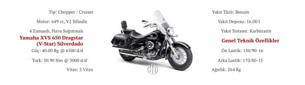 Yamaha XVS 650 Dragstar (V-Star) Silverado (2003 - 2013) - Motodeks