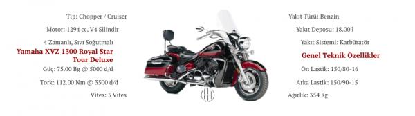 Yamaha XVZ 1300 Royal Star Tour Deluxe (1997 - 2001) - Motodeks