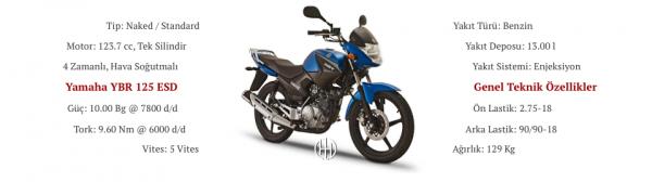 Yamaha YBR 125 ESD (2007 - 2017) - Motodeks