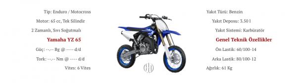 Yamaha YZ 65 (2018 - XXXX) - Motodeks