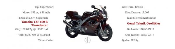 Yamaha YZF 600 R Thundercat (1995 - 1996) - Motodeks