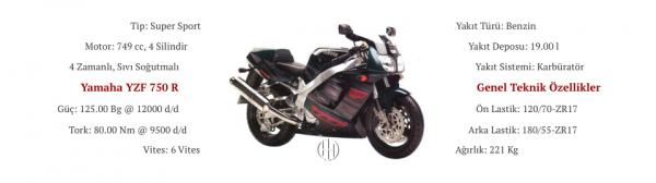 Yamaha YZF 750 R (1993 - 1998) - Motodeks