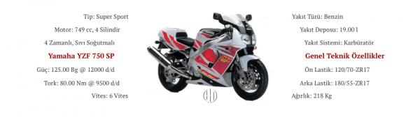 Yamaha YZF 750 SP (1993 - 1997) - Motodeks