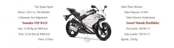 Yamaha YZF R125 (2008 - 2013) - Motodeks