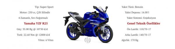 Yamaha YZF R25 (2019 - XXXX) - Motodeks