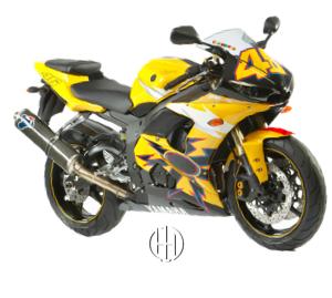 Yamaha YZF R6 R46 (2005) - Motodeks