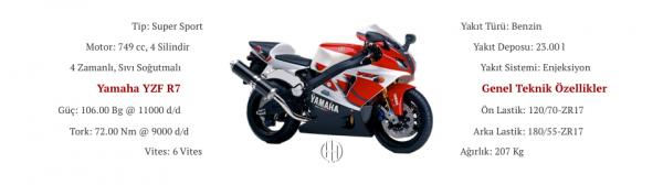 Yamaha YZF R7 (1999) - Motodeks