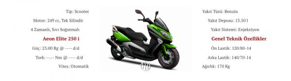 Aeon Elite 250 i (2019 - XXXX) - Motodeks