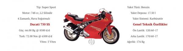 Ducati 750 SS (1990 - 1997) - Motodeks