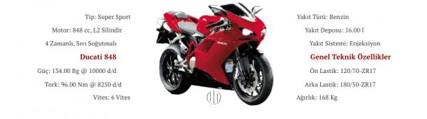 Ducati 848 (2008 - 2009) - Motodeks
