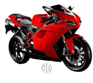 Ducati 848 EVO (2010 - 2013) - Motodeks