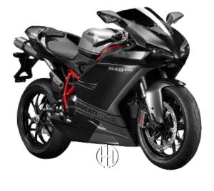 Ducati 848 EVO Corse SE (2010 - 2013) - Motodeks
