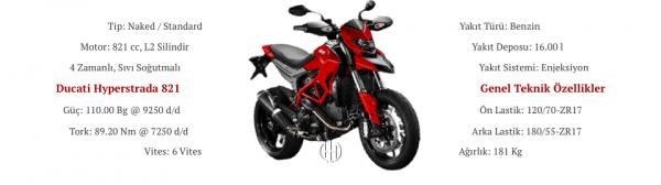 Ducati Hyperstrada 821 (2013 - 2015) - Motodeks