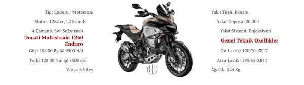 Ducati Multistrada 1260 Enduro (2019 - XXXX) - Motodeks