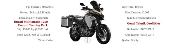 Ducati Multistrada 1260 Enduro Touring Pack (2019 - XXXX) - Motodeks