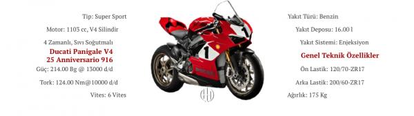 Ducati Panigale V4 25 Anniversario 916 (2019 - 2020) - Motodeks