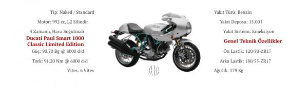Ducati Paul Smart 1000 Classic Limited Edition (2006) - Motodeks