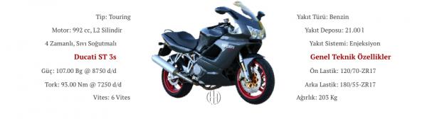 Ducati ST 3s (2006 - 2007) - Motodeks