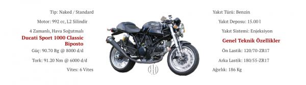 Ducati Sport 1000 Classic Biposto (2007 - 2008) - Motodeks