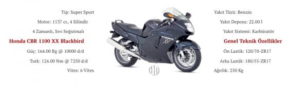Honda CBR 1100 XX Blackbird (1997 - 1998) - Motodeks