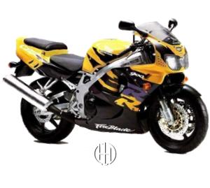 Honda CBR 900 RR Fireblade (1992 - 1995) - Motodeks