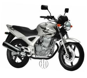 Honda CBX 250 Twister (2003 - 2006) - Motodeks
