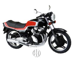 Honda CBX 400 F (1981 - 1983) - Motodeks