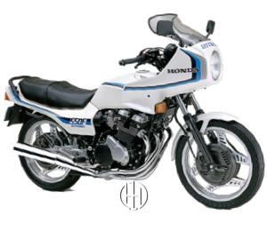 Honda CBX 550 F Integra (1982 - 1983) - Motodeks