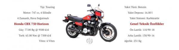 Honda CBX 750 Horizon (1984) - Motodeks