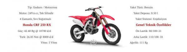 Honda CRF 250 RX (2018 - XXXX) - Motodeks