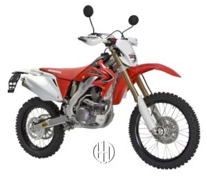 Honda CRF 250 X (2004 - 2017) - Motodeks