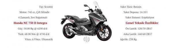 Honda NC 750 D Integra (2014 - XXXX) - Motodeks