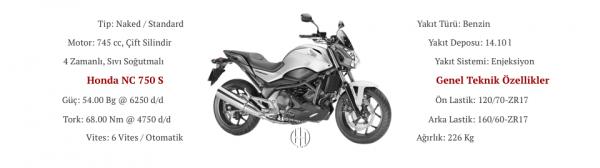 Honda NC 750 S (2014 - 2015) - Motodeks