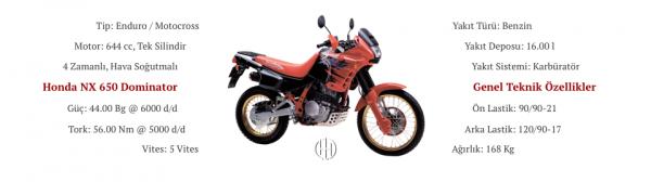 Honda NX 650 Domintaor (1991 - 1999) - Motodeks