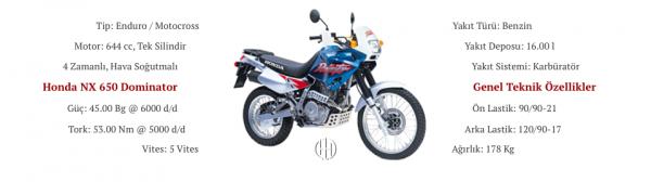Honda NX 650 Domintaor (2000 - 2001) - Motodeks