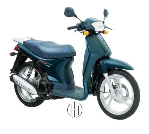 Honda SH 100 (1996 - 2001) - Motodeks