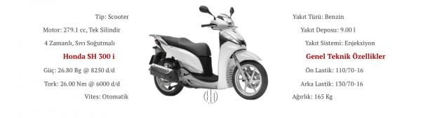 Honda SH 300 i (2009 - 2014) - Motodeks
