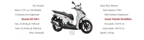 Honda SH 300 i (2015 - XXXX) - Motodeks