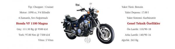 Honda VF 1100 Magna (1983 - 1986) - Motodeks