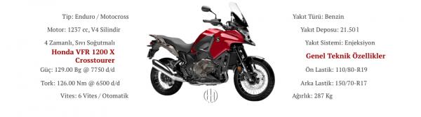 Honda VFR 1200 X Crosstourer (2012 - 2016) - Motodeks