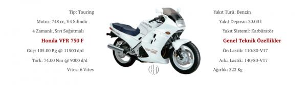 Honda VFR 750 F (1986 - 1989) - Motodeks