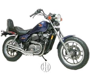 Honda VT 500 C Shadow (1983 - 1987) - Motodeks