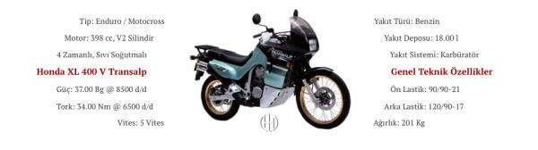 Honda XL 400 V Transalp (1991 - 1993) - Motodeks
