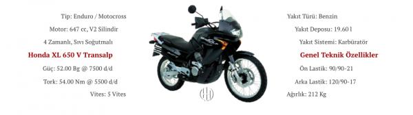 Honda XL 650 V Transalp (2000 - 2007) - Motodeks