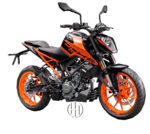 KTM 200 Duke (2020 - XXXX) - Motodeks