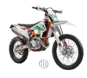 KTM 250 EXC-F Six Days (2012 - XXXX) - Motodeks