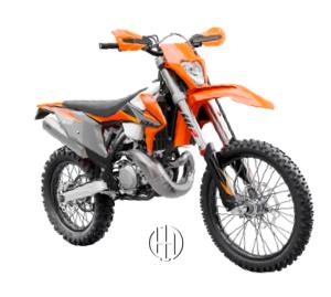 KTM 300 EXC TPI (2018 - XXXX) - Motodeks